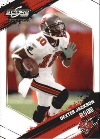 Dexter Jackson 2009 Panini Score Inscriptions #275 Rookie Football Card