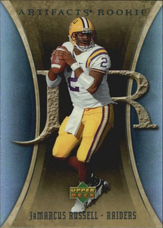 JaMarcus Russell 2007 Artifacts Rookie #175 Football Card
