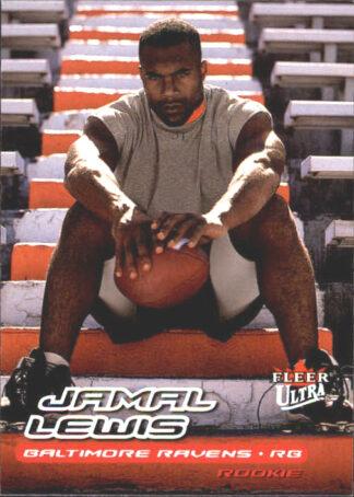 Jamal Lewis 2000 Fleer Ultra #237 Rookie Card