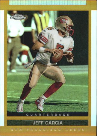 Jeff Garcia 2003 Topps Draft Picks and Prospects Chrome Gold Refractors #33