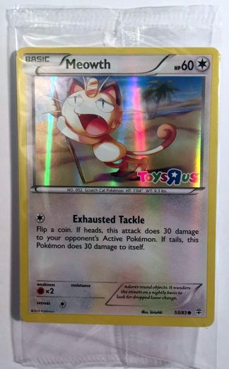Meowth 53/83 XY Generations Pokemon Toys R Us Promo Holo Foil Sealed