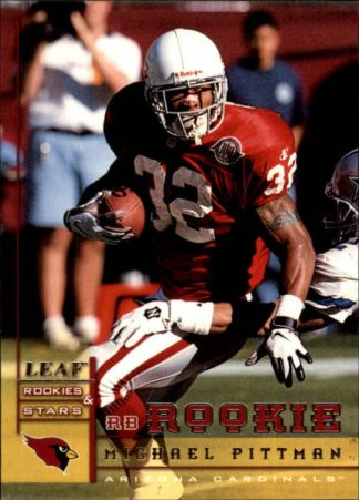 Michael Pittman 1998 Leaf Rookies & Stars #226
