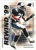 TIM BLAKABUTUKA 2000 Fleer IMPACT REWIND 99 #5 Football Card
