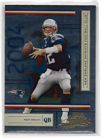 Tom Brady 2004 Donruss Absolute Memorabilia #83