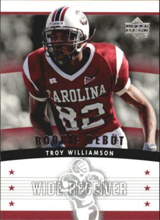 Troy Williamson 2005 Upper Deck Rookie Debut #129 Rookie Card