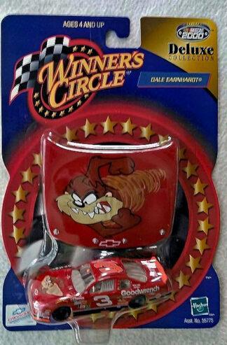 Dale Earnhardt Winners Circle Tasmanian Devil Hood & 1:64 Scale Race Car Deluxe Collection 2000