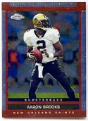 Aaron Brooks 2003 Topps Draft Picks and Prospects Chrome Football Card #21