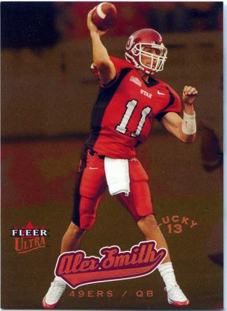 Alex Smith 2005 Ultra Lucky 13 Rookie #201 Football Card /599
