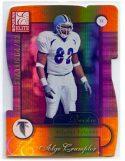 Alge Crumpler 2001 Donruss Elite Status Die-Cut #158 /82 Rookie Card