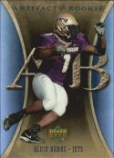 Alvin Banks 2007 Artifacts Rookie #103 Football Card