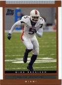 ANDRE JOHNSON 2003 TOPPS #147 ROOKIE Football Card