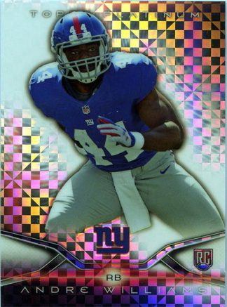 Andre Williams 2014 Topps Platinum Xfractors #110 Rookie Football Card
