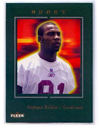 Anquan Boldin 2003 Fleer Avant Football Card #76 Rookie/699 Football Card