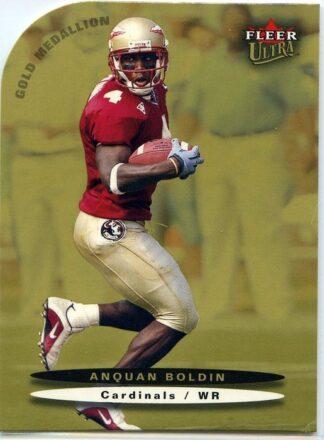 Anquan Boldin 2003 Fleer Ultra Gold Medallion Die Cut #193 Rookie Card