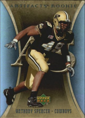 Anthony Spencer 2007 Artifacts Rookie #104 Football Card