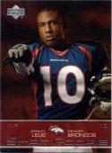 Ashley Lelie 2002 Upper Deck #244 Star Rookie Football Card