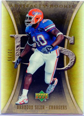 Brandon Siler 2007 Artifacts Rookie #106 Football Card /99