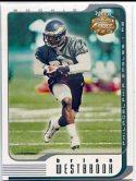 Brian Westbrook 2002 Fleer Focus Jersey Edition Rookie #133 /1850
