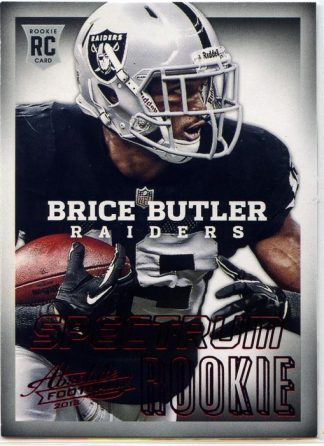 Brice Butler 2013 Panini Absolute Football Spectrum Red Rookie #110 Football Card