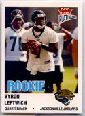 Byron Leftwich 2003 Fleer Platinum Rookie Card #251 /750
