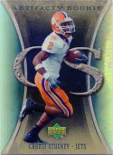 Chansi Stuckey 2007 Artifacts Rookie #162 Football Card