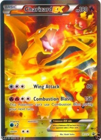Charizard EX #XY121 Holo Rare Red & Blue Collection Black Star Promo