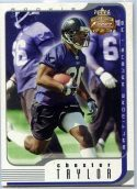 Chester Taylor 2002 Fleer Focus Jersey Edition Rookie #141 /1850 Football Card