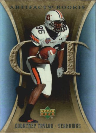 Courtney Taylor 2007 Artifacts Rookie #111 Football Card
