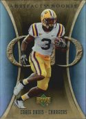 Craig Buster Davis 2007 Artifacts Rookie #165 Football Card