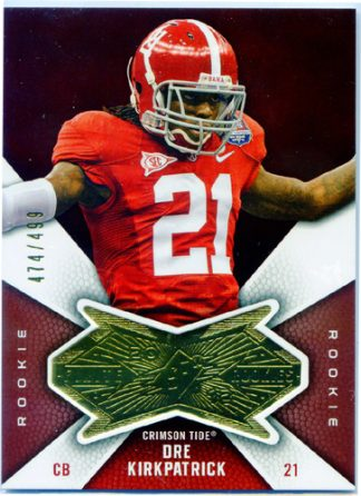 Dre Kirkpatrick 2012 Upper Deck Finite Rookie #F-DK /499 Football Card