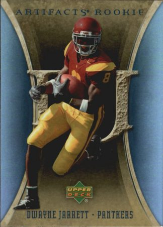 Dwayne Jarrett 2007 Artifacts #171 Rookie Football Card