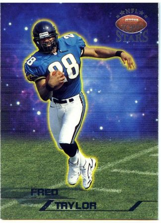 Fred Taylor 1998 Topps NFL Stars Rookie #46 /3999 Football Card
