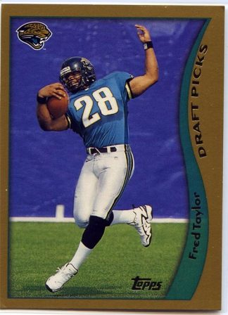 FRED TAYLOR 1998 TOPPS DRAFT PICKS ROOKIE CARD #339