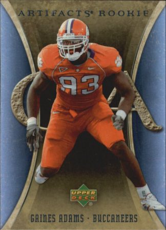 Gaines Adams 2007 Artifacts Rookie #172 Football Card