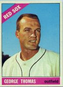 GEORGE THOMAS 1966 TOPPS #277 Baseball Card