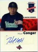 Hank Conger 2008 Tristar Projections # 167 Autograph Baseball Card