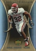 Jamaal Anderson 2007 Artifacts Rookie #174 Football Card