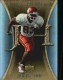 Jason Hill 2007 Artifacts Rookie #125 Football Card
