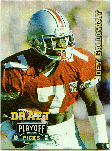 Joey Galloway 1995 Playoff Draft Picks Prime Rookie Football Card #187