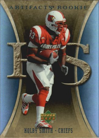 Kolby Smith 2007 Artifacts Rookie #129 Football Card
