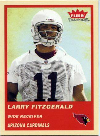 Larry Fitzgerald 2004 Fleer Tradition Rookie Card #332
