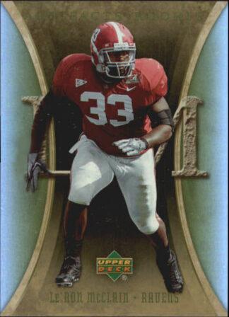 Le'Ron McClain 2007 Artifacts Rookie #131 Football Card