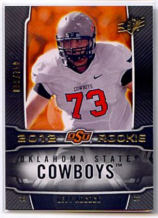 Levy Adcock 2012 SPx Rookie Card #181 /750