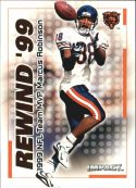 Marcus Robinson 2000 Fleer IMPACT REWIND 99 #6 Football Card