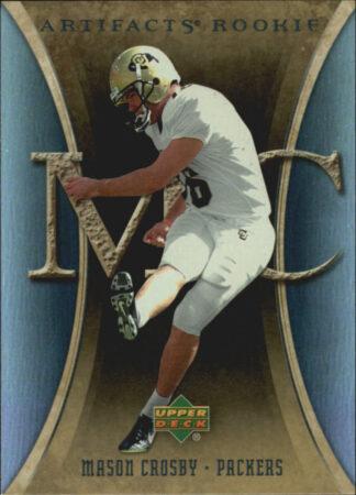Mason Crosby 2007 Artifacts Rookie #133 Football Card