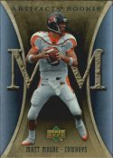 Matt Moore 2007 Artifacts Rookie #134 Football Card