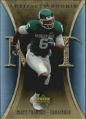 Matt Trannon 2007 Artifacts Rookie #135 Football Card