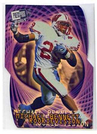 Michael Bennett 2001 Press Pass SE Rookievision #RV8 Rookie Card
