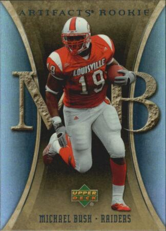 Michael Bush 2007 Artifacts Rookie #188 Football Card