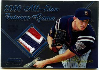 Mike Bynum 2001 Bowman Chrome All Star Futures Game Used Jersey #FGRMB